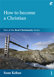 Book 1 cover - How to become a Christian