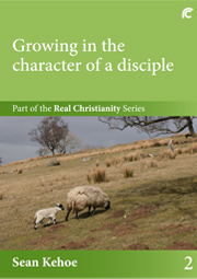 """Book 2 cover - """"Growing in the character of a disciple"""""""