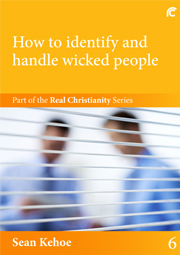 """Book 6 cover - """"How to identify and handle wicked people"""""""